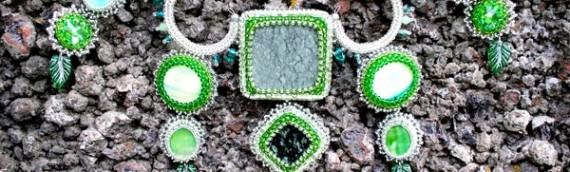 Комплект из бисера и камней «Изида»